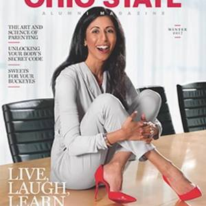 Ida cover of winter 2017 ohio state mag